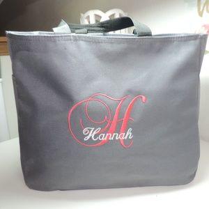 Handbags - NWOT Hannah Tote Side and Inner Pockets Grey Gray